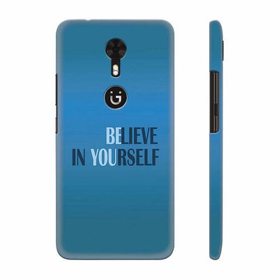 Believe in Yourself Back Cover for Gionee A1