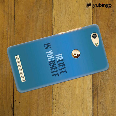 Believe in Yourself Back Cover for Gionee F103 Pro-Image3