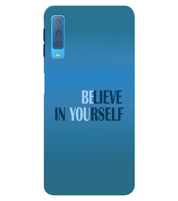 Believe in Yourself Back Cover for Samsung Galaxy A7 (2018)