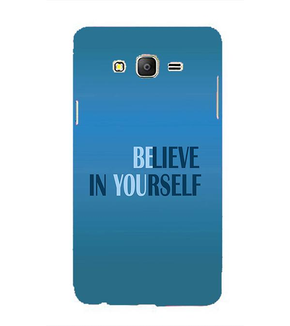 Believe in Yourself Back Cover for Samsung Galaxy On5 and On5 Pro
