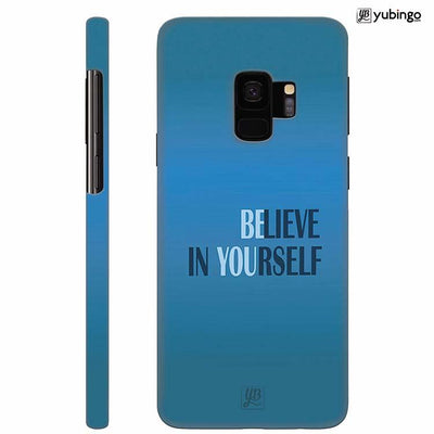 Believe in Yourself Back Cover for Samsung Galaxy S9
