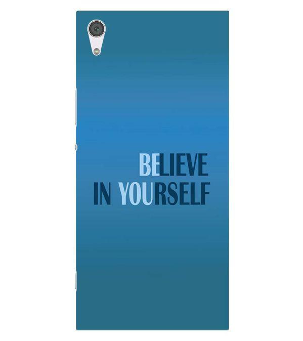Believe in Yourself Back Cover for Sony Xperia XA1