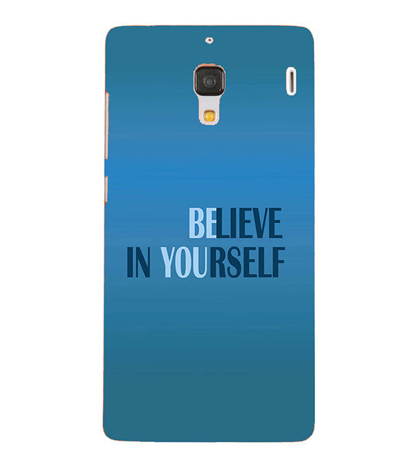 Believe in Yourself Back Cover for Xiaomi Redmi 1S
