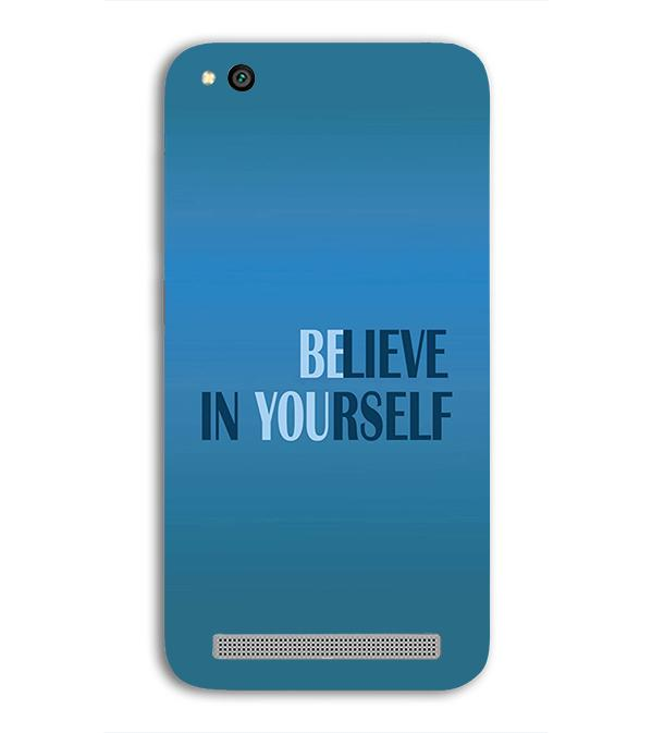 Believe in Yourself Back Cover for Xiaomi Redmi 5A