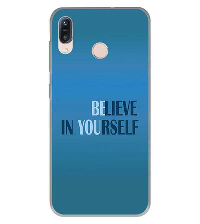 Believe in Yourself Back Cover for Asus Zenfone Max Pro M1