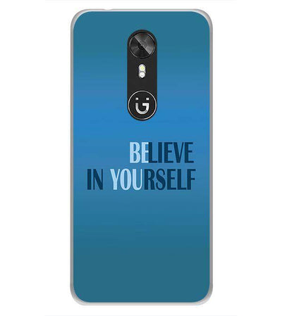 Believe in Yourself Back Cover for Gionee A1-Image3