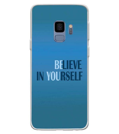 Believe in Yourself Back Cover for Samsung Galaxy S9-Image3