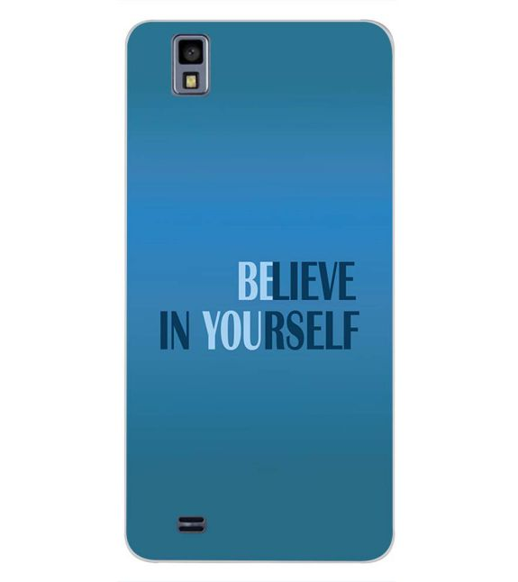 Believe in Yourself Back Cover for Gionee Pioneer P2M-Image3