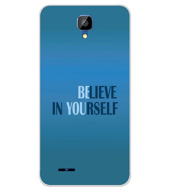 Believe in Yourself Back Cover for Karbonn Aura Champ-Image3