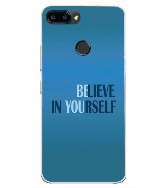 Believe in Yourself Back Cover for Lenovo K9 Note-Image3