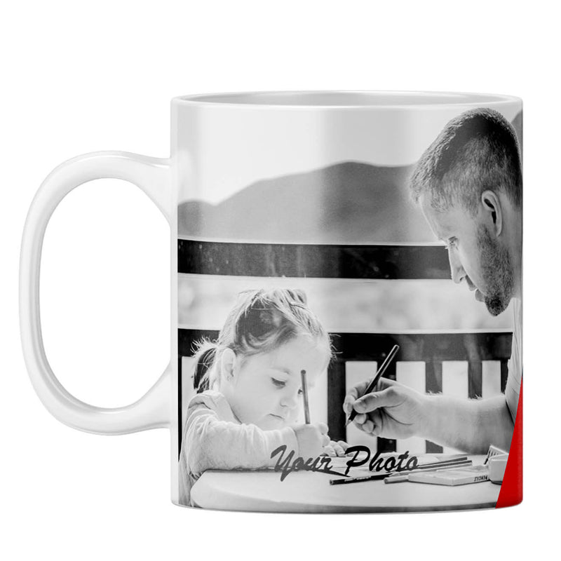 Best Dad Ever Collage Coffee Mug