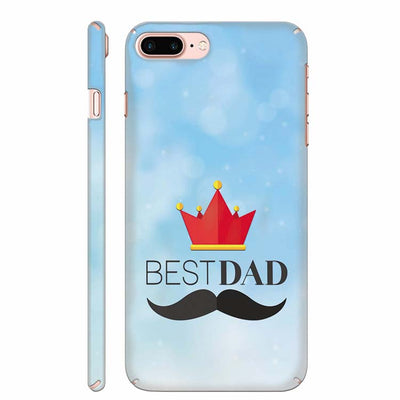 Best Dad Back Cover for Apple iPhone 8 Plus