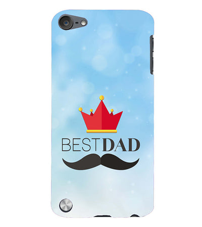 Best Dad Back Cover for Apple iPod Touch 5