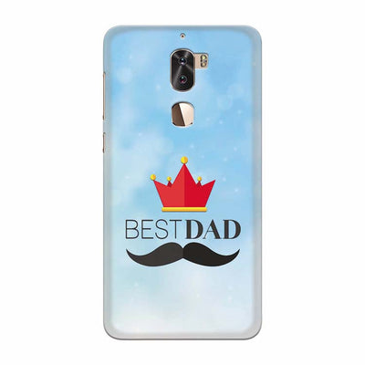Best Dad Back Cover for Coolpad Cool 1