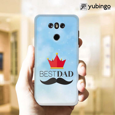 Best Dad Back Cover for LG G6-Image2