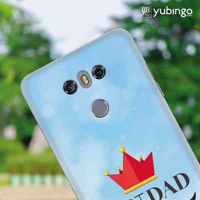 Best Dad Back Cover for LG G6-Image4