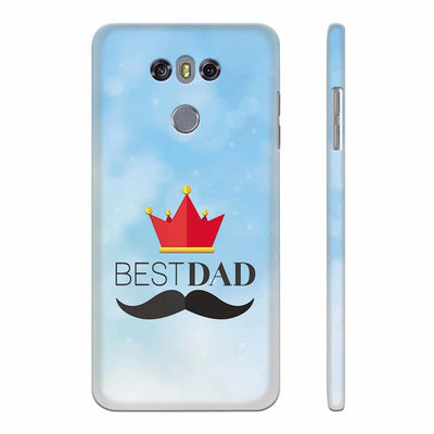 Best Dad Back Cover for LG G6