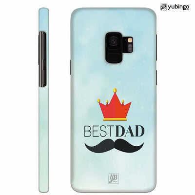 Best Dad Back Cover for Samsung Galaxy S9