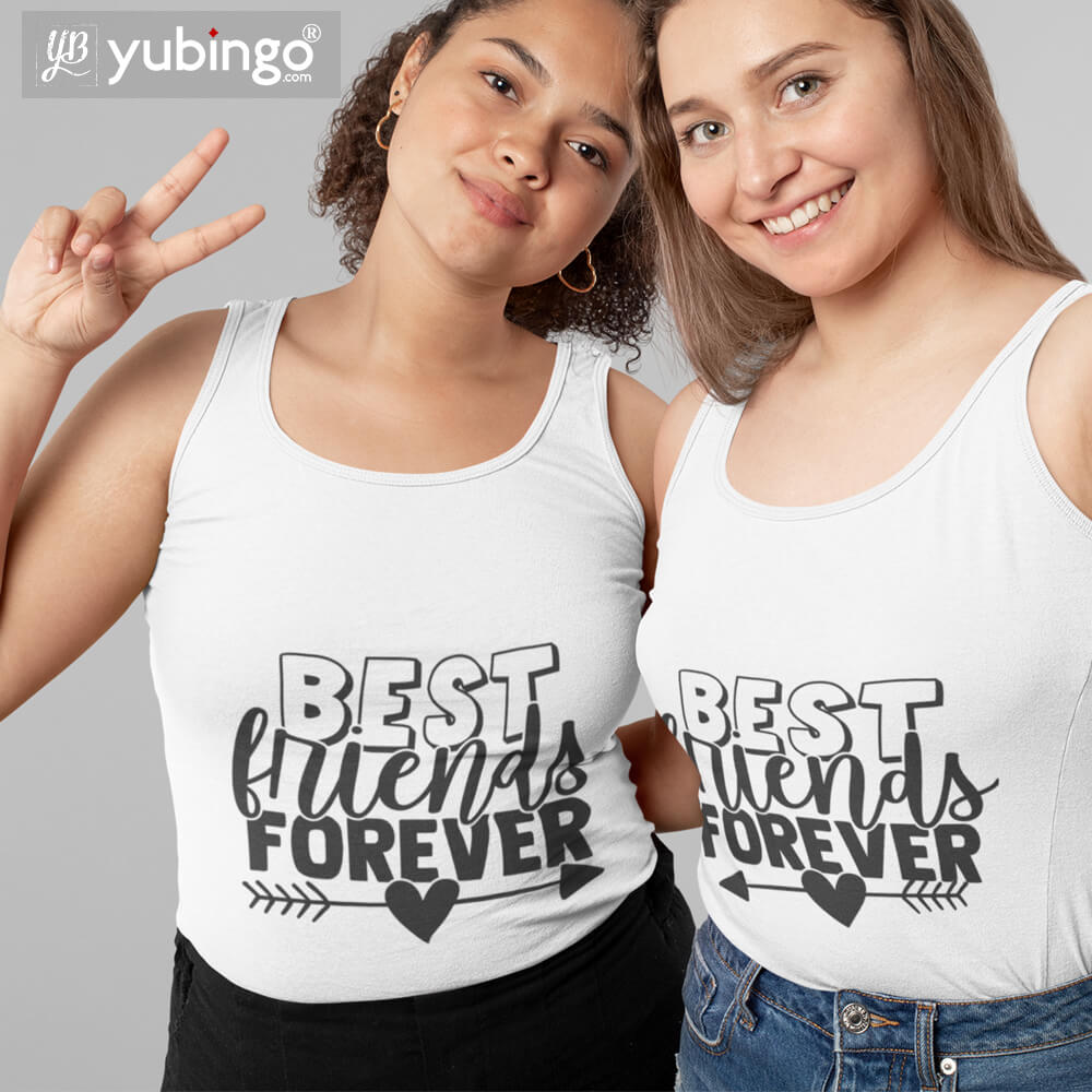 Best Friends Forever BFF Tank Tops