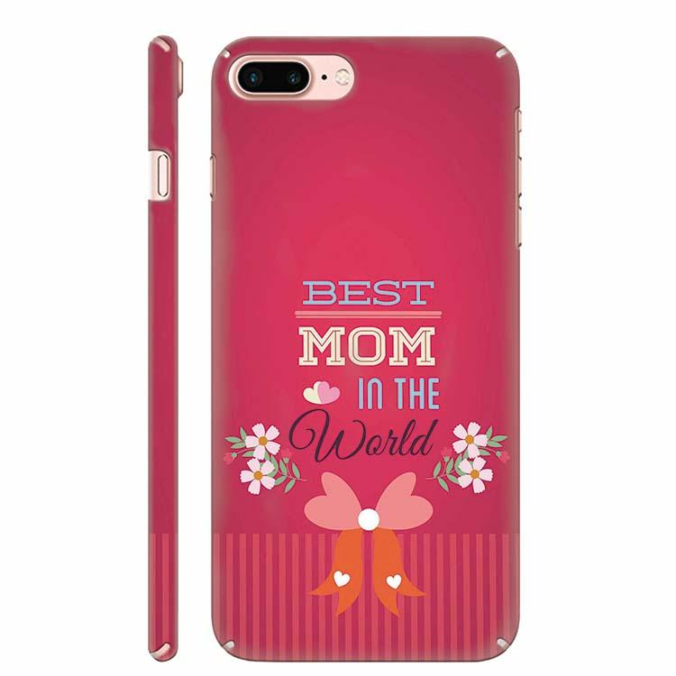Best Mom in the World Back Cover for Apple iPhone 7 Plus