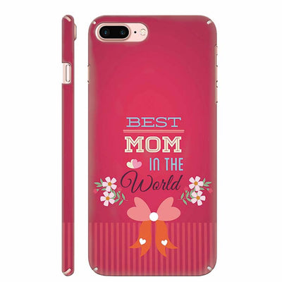 Best Mom in the World Back Cover for Apple iPhone 8 Plus