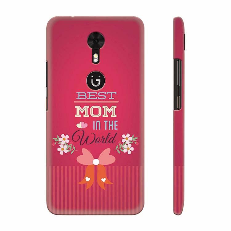 Best Mom in the World Back Cover for Gionee A1