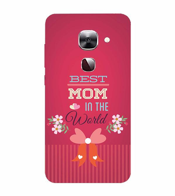 Mom Collection Back Cover for LeEco Le 2s
