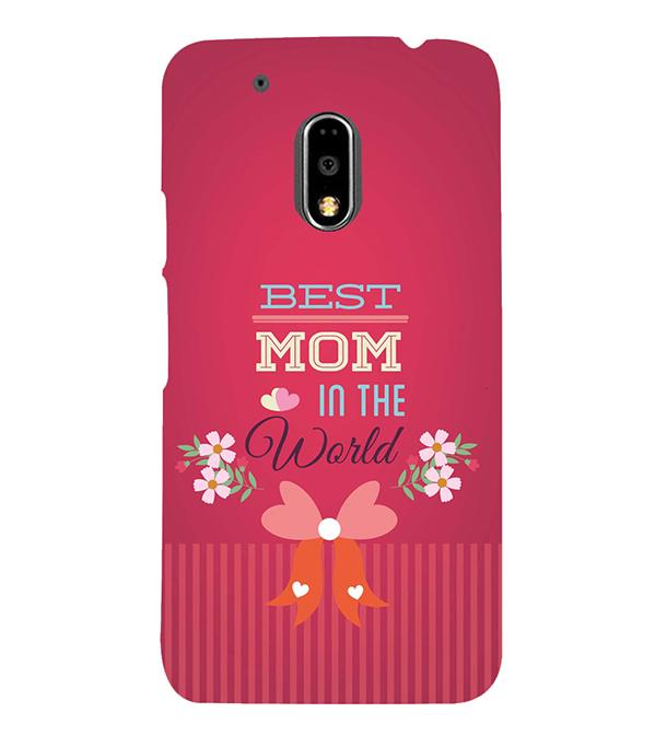 Best Mom in the World Back Cover for Motorola Moto G4 and Moto G4 Plus