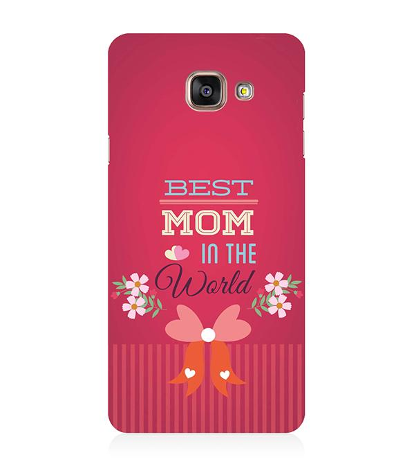 Best Mom in the World Back Cover for Samsung Galaxy A5 (6) 2016