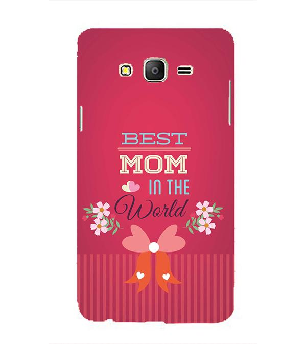 Best Mom in the World Back Cover for Samsung Galaxy On5 and On5 Pro
