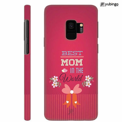 Best Mom in the World Back Cover for Samsung Galaxy S9