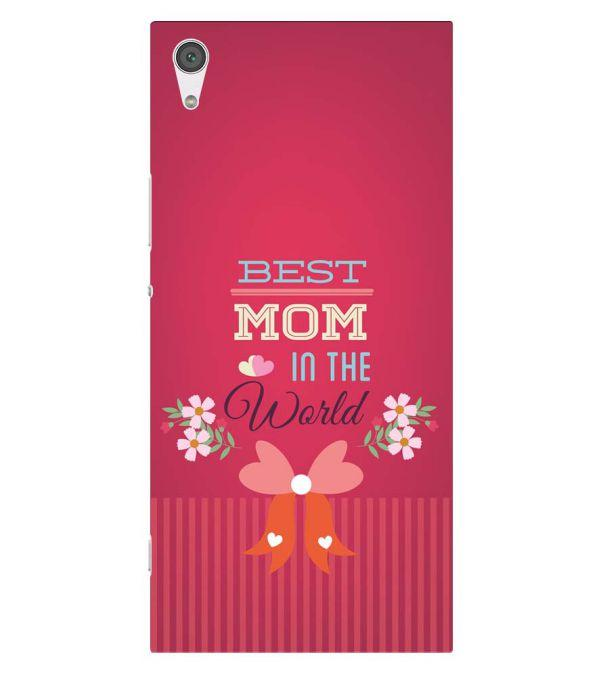 Best Mom in the World Back Cover for Sony Xperia XA1