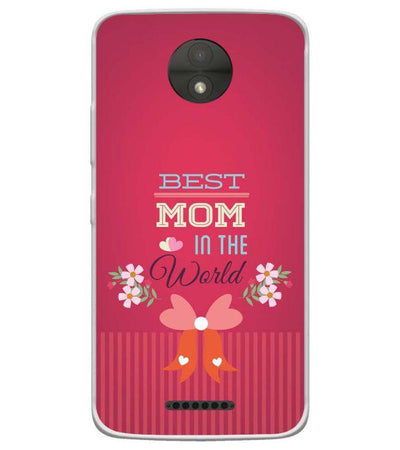 Best Mom in the World Back Cover for Motorola Moto C-Image3