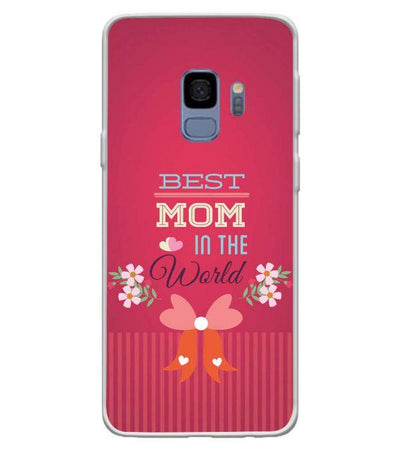 Best Mom in the World Back Cover for Samsung Galaxy S9-Image3