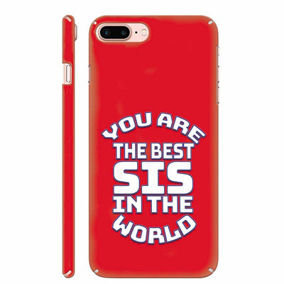 Best Sister In The World Back Cover for Apple iPhone 8 Plus