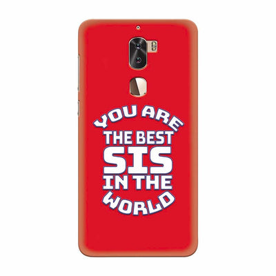Best Sister In The World Back Cover for Coolpad Cool 1