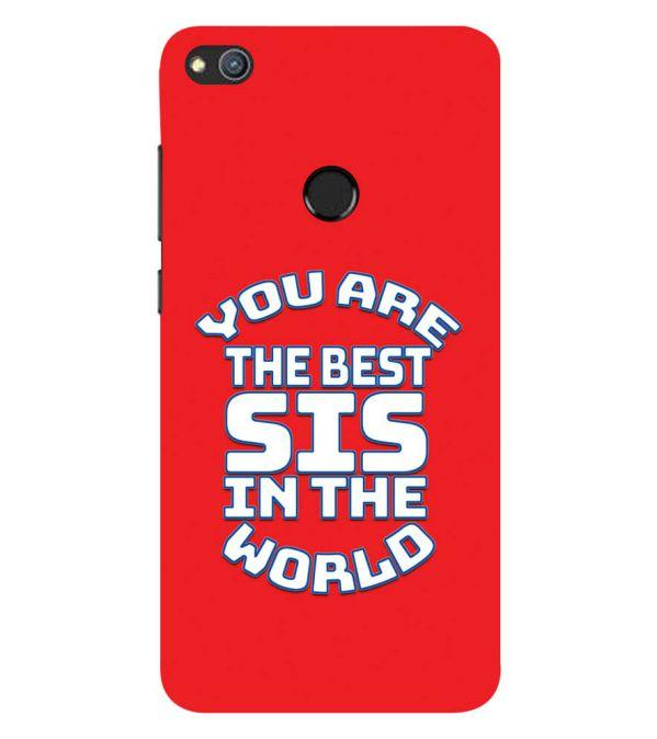 Best Sister In The World Back Cover for Huawei Honor 8 Lite