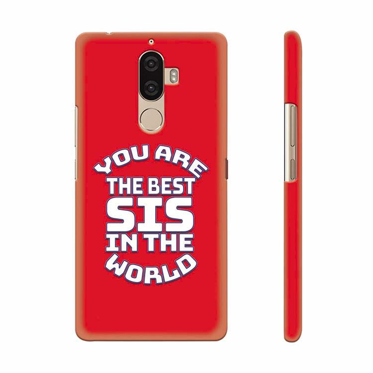 Sister Collection Back Cover for Lenovo K8 Note