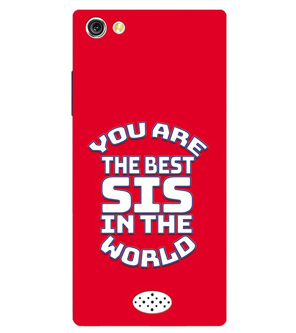Best Sister In The World Back Cover for Oppo Neo 5