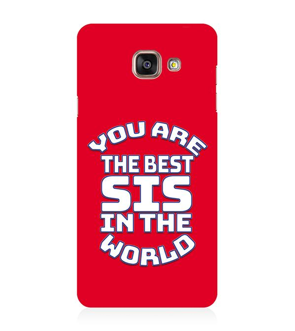 Best Sister In The World Back Cover for Samsung Galaxy A5 (6) 2016