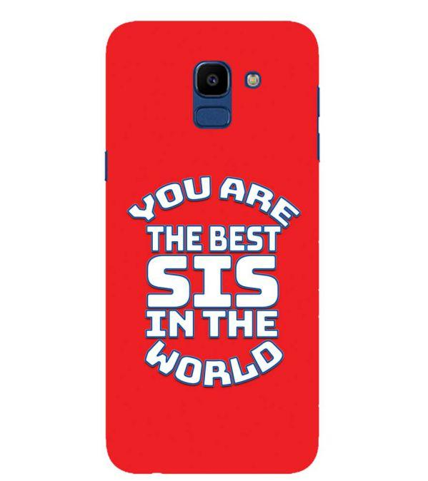 Best Sister In The World Back Cover for Samsung Galaxy On6