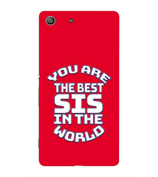 Best Sister In The World Back Cover for Sony Xperia Z3
