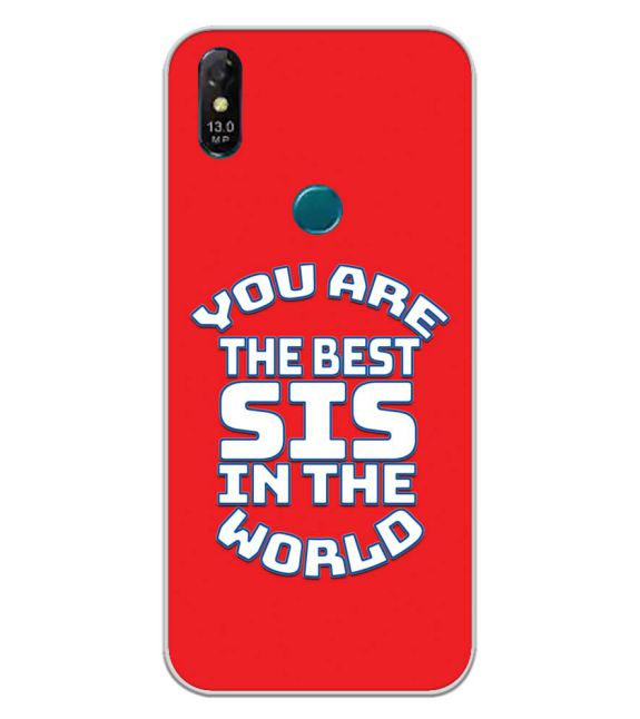 Best Sister In The World Back Cover for Coolpad Cool 3 Plus-Image3