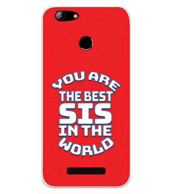 Best Sister In The World Back Cover for Intex Aqua Lions X1-Image3
