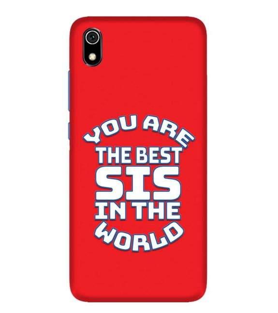 Best Sister In The World Back Cover for Xiaomi Redmi 7A