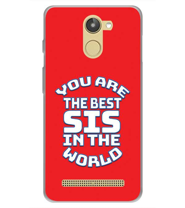 Yubingo Buy Best Sister In The World Mobile Cover For 10or D