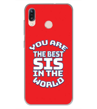 Best Sister In The World Back Cover for Asus Zenfone Max Pro M1