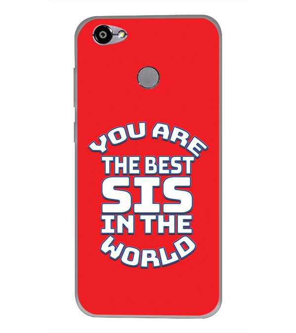 new concept 9aed6 35a09 Best Sister In The World Back Cover for Smartron TPhone (P)