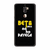 Beta Tumse Na Ho Payega Back Cover for Coolpad Cool 1