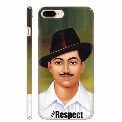 Bhagat Singh Back Cover for Apple iPhone 8 Plus